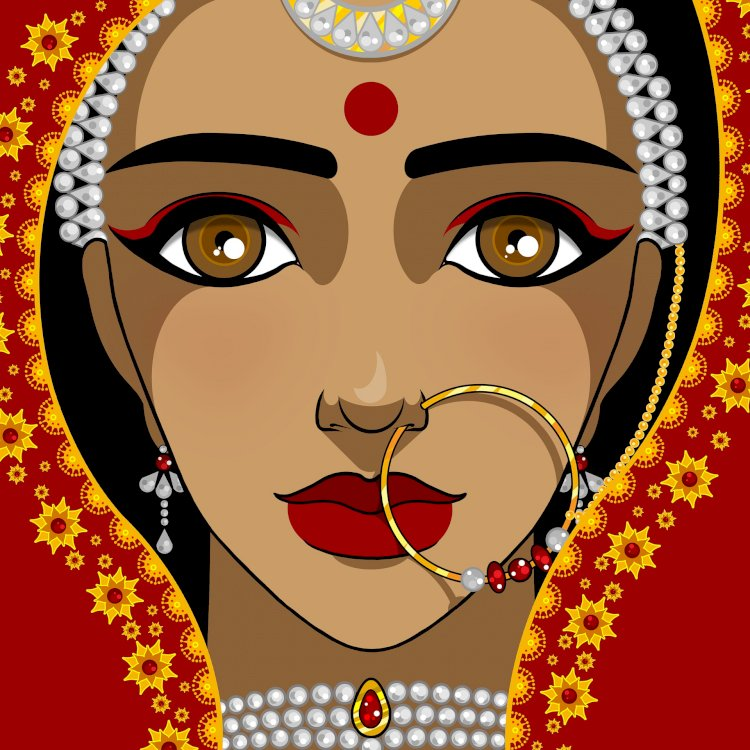 Her bindi -the bond between two.