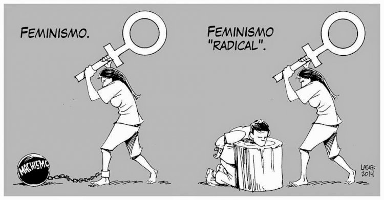 Sssshhh!! This is feminism where 'pseudo' is silent