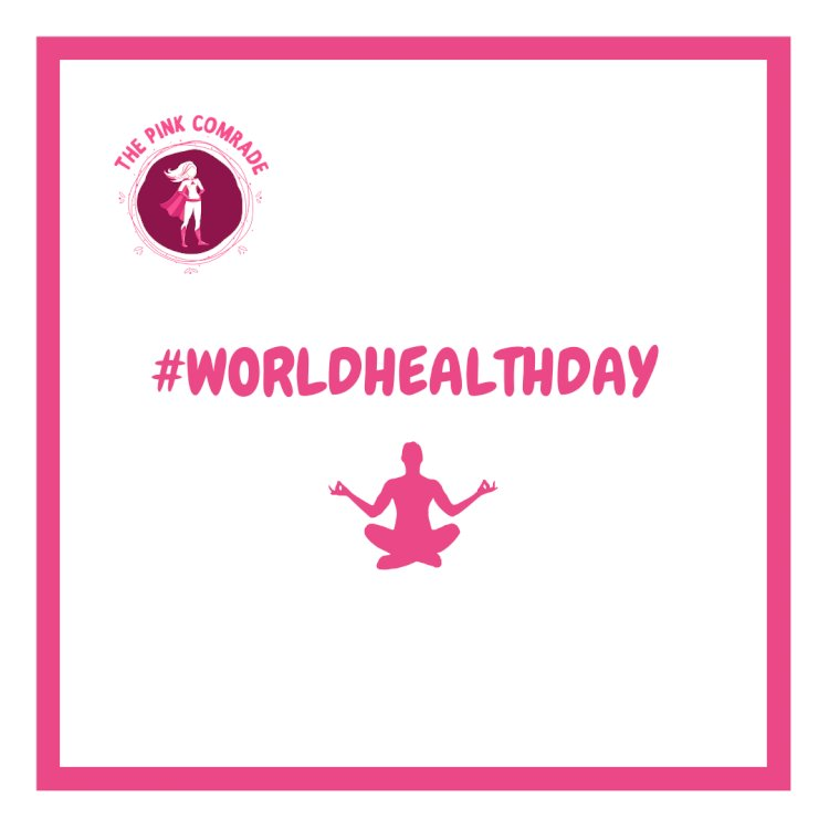 #WorldHealthDay Challenge is live on Pink Comrade app :)