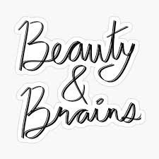 Wisely breaking that beautiful stereotype.  #Blogprompt - Beauty with Brain