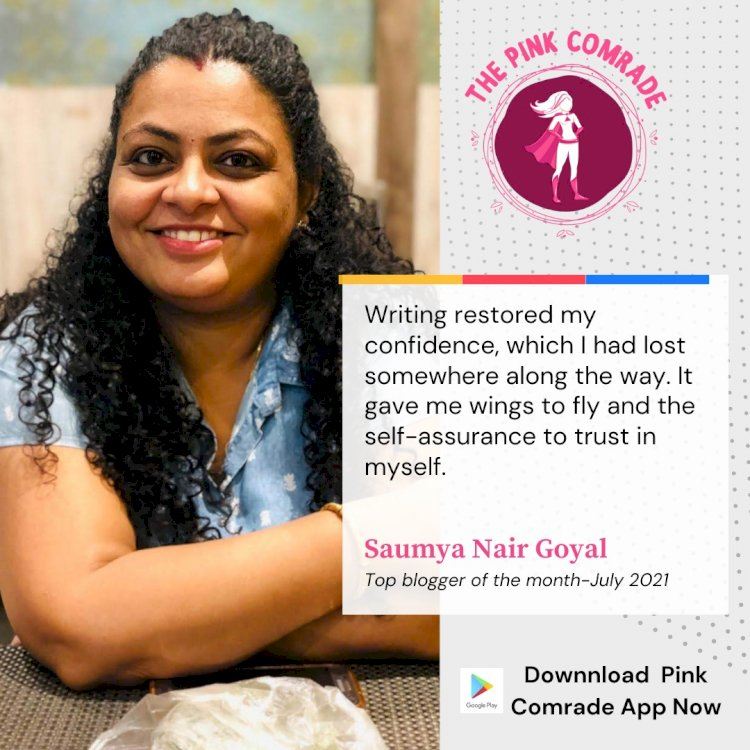 Know the journey of this prolific writer- Saumya Nair Goyal